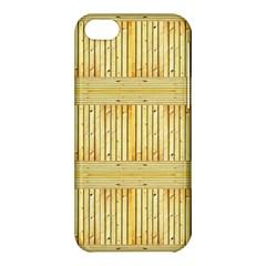 Wood Texture Grain Light Oak Apple Iphone 5c Hardshell Case