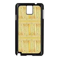 Wood Texture Grain Light Oak Samsung Galaxy Note 3 N9005 Case (black)