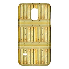 Wood Texture Grain Light Oak Galaxy S5 Mini