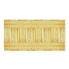 Wood Texture Grain Light Oak Satin Wrap