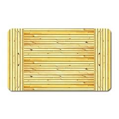 Wood Texture Background Light Magnet (rectangular)