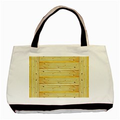 Wood Texture Background Light Basic Tote Bag (two Sides)
