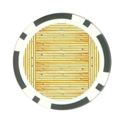 Wood Texture Background Light Poker Chip Card Guard