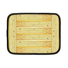 Wood Texture Background Light Netbook Case (small)