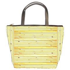 Wood Texture Background Light Bucket Bags