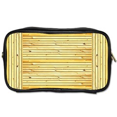 Wood Texture Background Light Toiletries Bags