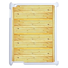 Wood Texture Background Light Apple Ipad 2 Case (white)