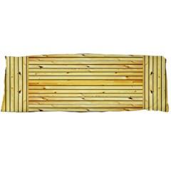 Wood Texture Background Light Body Pillow Case Dakimakura (two Sides)