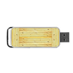 Wood Texture Background Light Portable Usb Flash (two Sides)
