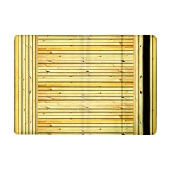 Wood Texture Background Light Apple Ipad Mini Flip Case