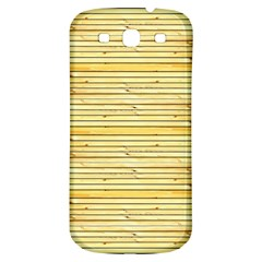 Wood Texture Background Light Samsung Galaxy S3 S Iii Classic Hardshell Back Case