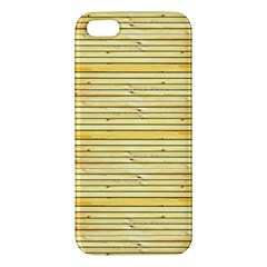 Wood Texture Background Light Iphone 5s/ Se Premium Hardshell Case