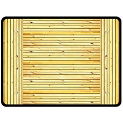 Wood Texture Background Light Double Sided Fleece Blanket (large)