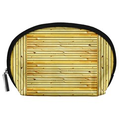 Wood Texture Background Light Accessory Pouches (large)