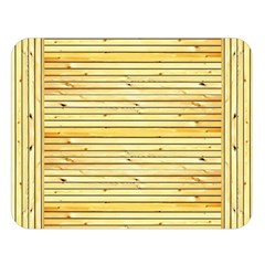 Wood Texture Background Light Double Sided Flano Blanket (large)