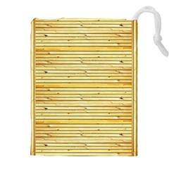 Wood Texture Background Light Drawstring Pouches (xxl)