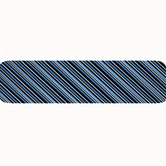 Diagonal Stripes Pinstripes Large Bar Mats