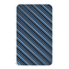 Diagonal Stripes Pinstripes Memory Card Reader