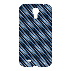 Diagonal Stripes Pinstripes Samsung Galaxy S4 I9500/i9505 Hardshell Case