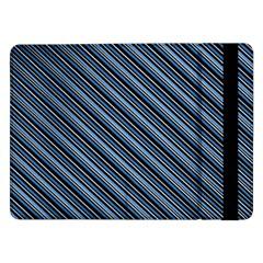 Diagonal Stripes Pinstripes Samsung Galaxy Tab Pro 12 2  Flip Case