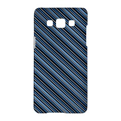 Diagonal Stripes Pinstripes Samsung Galaxy A5 Hardshell Case
