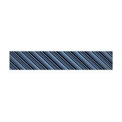 Diagonal Stripes Pinstripes Flano Scarf (mini)