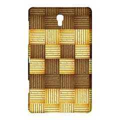 Wood Texture Grain Weave Dark Samsung Galaxy Tab S (8 4 ) Hardshell Case