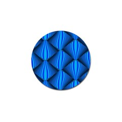 Abstract Waves Motion Psychedelic Golf Ball Marker (4 Pack)