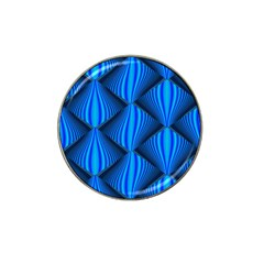 Abstract Waves Motion Psychedelic Hat Clip Ball Marker (4 Pack)