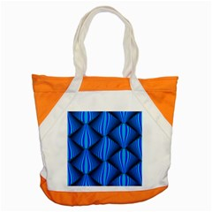 Abstract Waves Motion Psychedelic Accent Tote Bag by Nexatart
