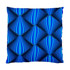Abstract Waves Motion Psychedelic Standard Cushion Case (one Side)