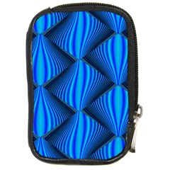 Abstract Waves Motion Psychedelic Compact Camera Cases