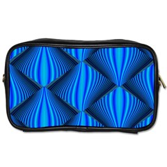 Abstract Waves Motion Psychedelic Toiletries Bags 2 Side