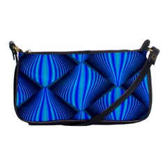 Abstract Waves Motion Psychedelic Shoulder Clutch Bags