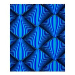 Abstract Waves Motion Psychedelic Shower Curtain 60  X 72  (medium)