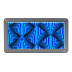 Abstract Waves Motion Psychedelic Memory Card Reader (mini)