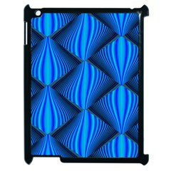 Abstract Waves Motion Psychedelic Apple Ipad 2 Case (black)