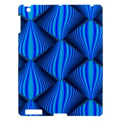 Abstract Waves Motion Psychedelic Apple Ipad 3/4 Hardshell Case