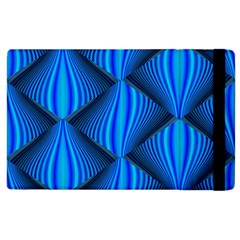 Abstract Waves Motion Psychedelic Apple Ipad 3/4 Flip Case
