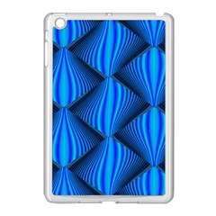 Abstract Waves Motion Psychedelic Apple Ipad Mini Case (white)