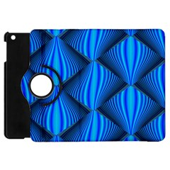 Abstract Waves Motion Psychedelic Apple Ipad Mini Flip 360 Case