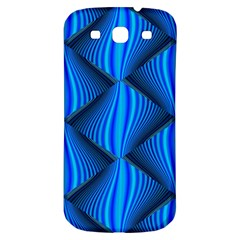 Abstract Waves Motion Psychedelic Samsung Galaxy S3 S Iii Classic Hardshell Back Case
