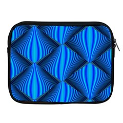 Abstract Waves Motion Psychedelic Apple Ipad 2/3/4 Zipper Cases