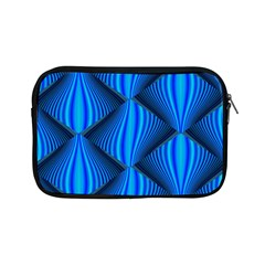 Abstract Waves Motion Psychedelic Apple Ipad Mini Zipper Cases by Nexatart