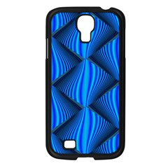 Abstract Waves Motion Psychedelic Samsung Galaxy S4 I9500/ I9505 Case (black)
