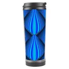 Abstract Waves Motion Psychedelic Travel Tumbler by Nexatart