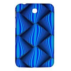 Abstract Waves Motion Psychedelic Samsung Galaxy Tab 3 (7 ) P3200 Hardshell Case