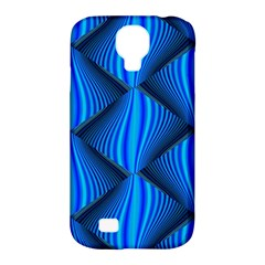 Abstract Waves Motion Psychedelic Samsung Galaxy S4 Classic Hardshell Case (pc+silicone)