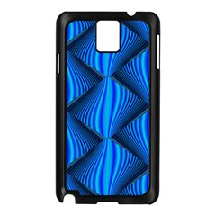 Abstract Waves Motion Psychedelic Samsung Galaxy Note 3 N9005 Case (black)