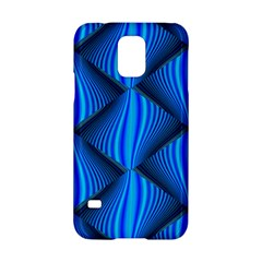 Abstract Waves Motion Psychedelic Samsung Galaxy S5 Hardshell Case